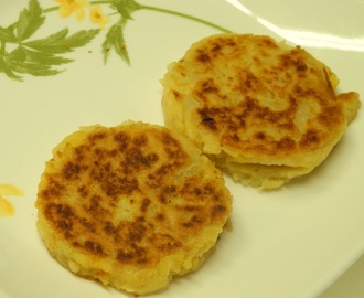 Cheddar and Potato Latkes - Jamie Geller