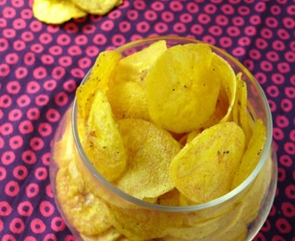 How to make kerala banana chips/nendran chips/marudhuskitchen