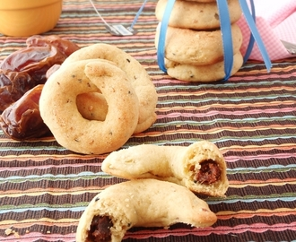 "My Ultimate Spiced Date Ring Cookies  ""Ka'ak Bl Ajwa"""