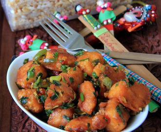 Gobi Manchurian Gravy Hebbar S Kitchen