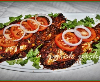 Tangy Grilled Fish Roast