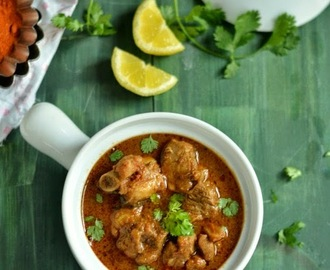 Kodi Kura - Andhra style Chicken Curry