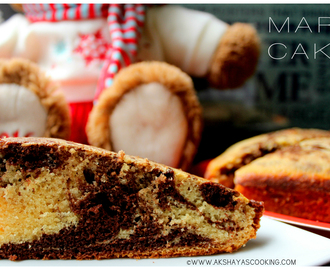 Marble cake (MOIST AND FLUFFY)