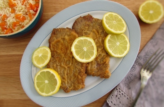 Breaded escalopes | Food From Portugal
