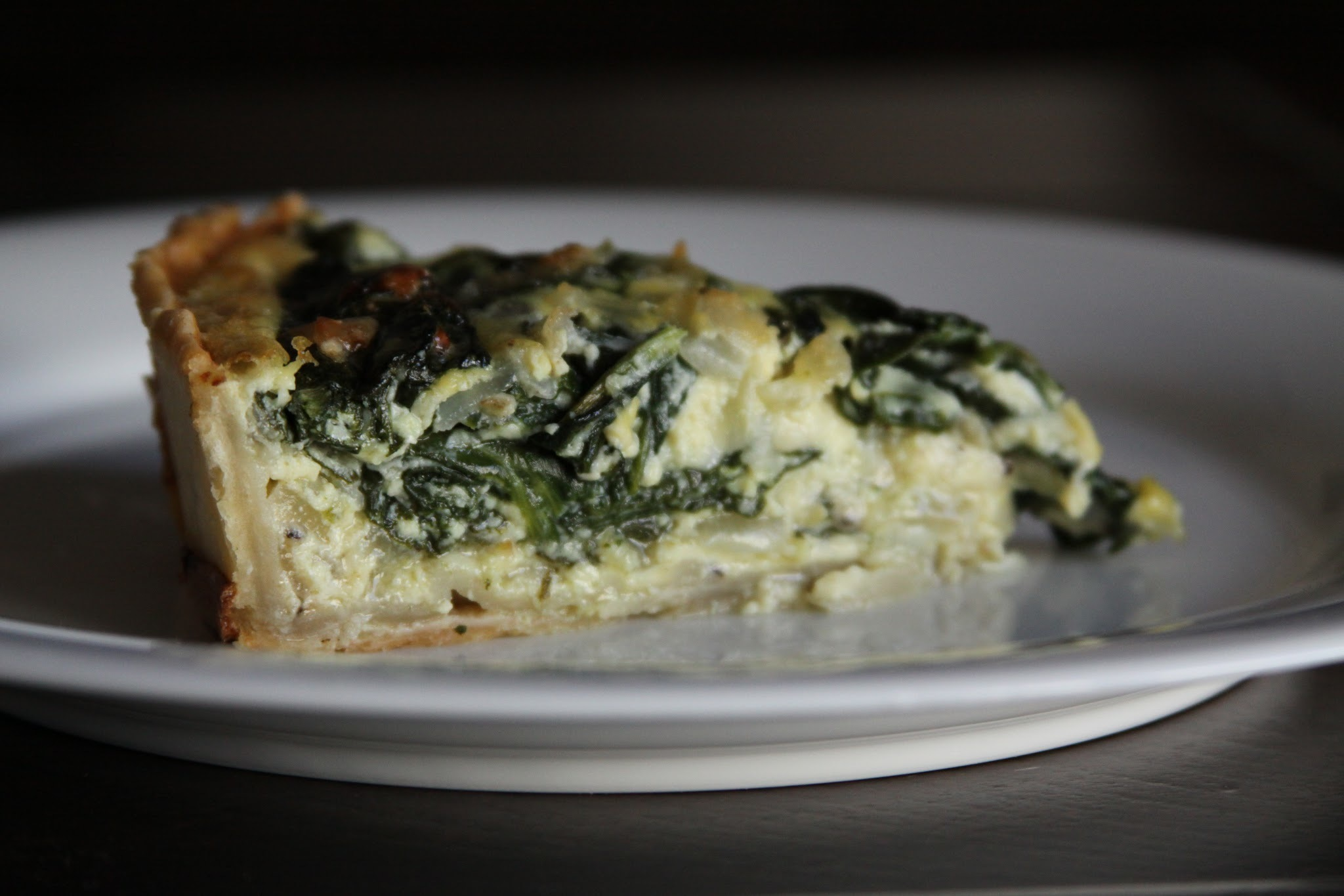 Heavenly Spinach Quiche