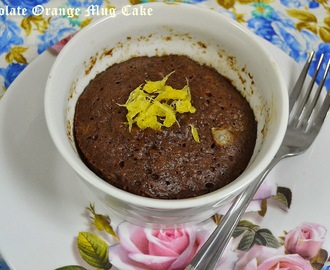 Chocolate Orange Mug Cake