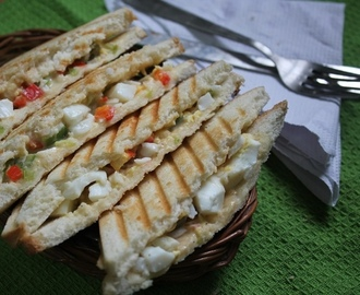 Egg Salad Sandwich Recipe / Spicy Egg Salad Sandwich Recipe / Egg Salad Recipe