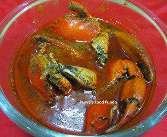 Konkani Crab Curry