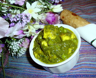 Palak Paneer / Palak Paneer Recipe / Spinach With Indian Cottage Cheese