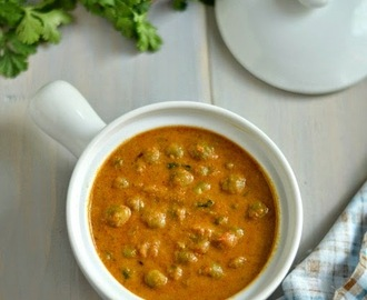 Kerala Style Green Peas Curry