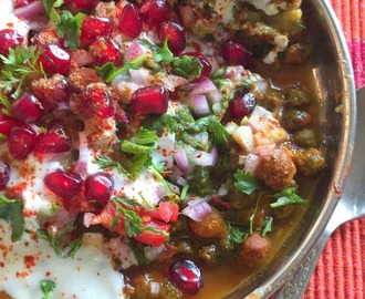 Tikki Chole Chaat | Spicy Chaat recipes