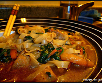 Chinese Pork and Vegetable Soup