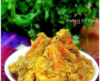 Sorshe Posto Chingri...!!! Prawns In Poppy Seeds & Mustard Seeds Paste...!!!