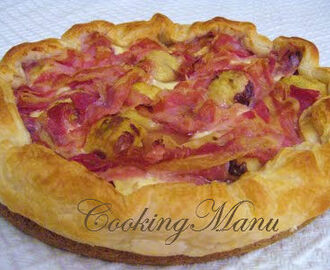 Tart di Fichi,Pancetta e Camembert (Tart of Figs, Pancetta and Camembert)