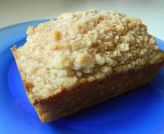 Cinnamon Streusel Coffee Cake…..