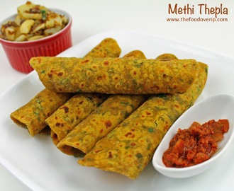 Gujarathi Methi Theplas | Spiced Fenugreek Indian Flat Bread