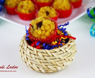 Boondi Ladoo Recipe | How to make boondi ladoo [Step by Step picture Recipe] | Diwali Recipes 2013