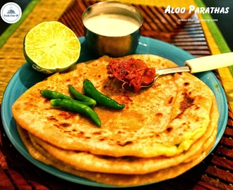 Aloo Paratha Recipe - With Step by Step Pictures