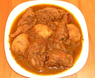 Chicken Masala Kolkata Style – Quick CHICKEN CURRY