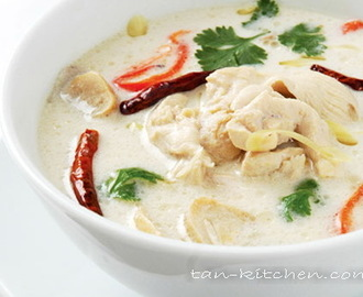 Chicken Coconut Soup (TOM KHA KAI)