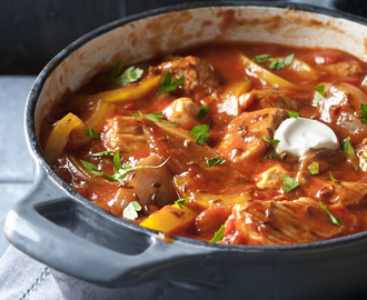 rundergoulash met brood