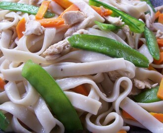 PPN- Sauteed Flat Noodles