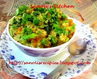 BROKEN WHEAT (DALIA) UPMA