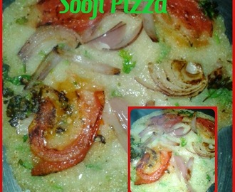 Sooji Pizza | Veggie Semolina Pizza