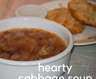 Cabbage Soup – A Hearty Fall Meal