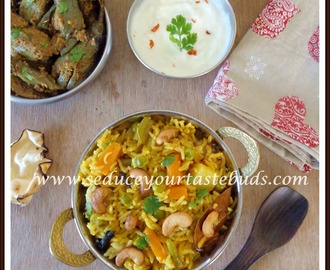 Chettinad Vegetable Briyani
