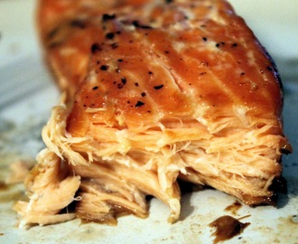 Maple-Soy Glazed Salmon