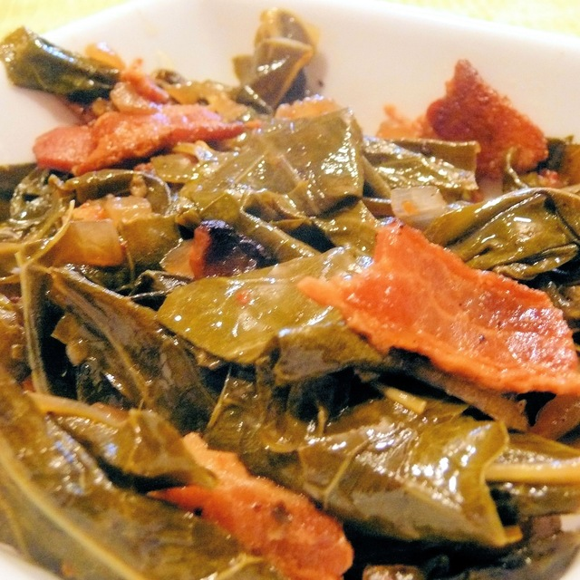 Slow-Braised Collard Greens