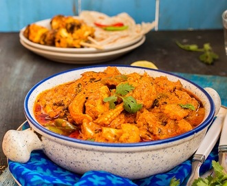 Veg Tikka Masala \ Marinated and Grilled Vegetables in a Spicy Gravy