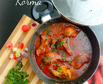 Lucknowi Chicken korma