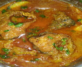 Rohu Fish Curry in Oriya Style