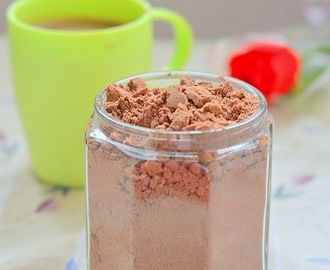 Hot chocolate drink mix recipe  -  Homemade hot chocolate powder recipe
