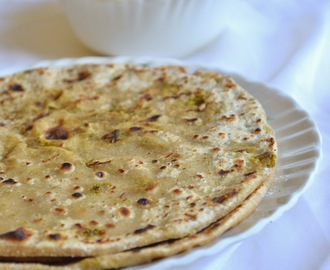 broccoli paratha - paratha recipes - kids lunch box ideas
