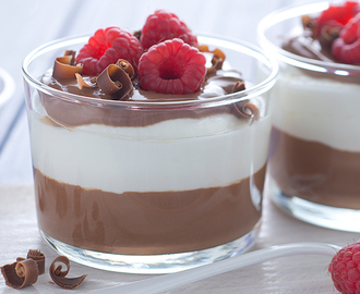 Mousse di Cioccolato fondente e yogurt Total 0%