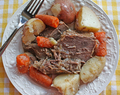 Recipe for Pot Roast with Vegetables