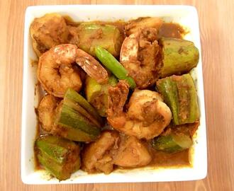 Pointed Gourd or Parwal with Shrimp – POTOL PRAWN
