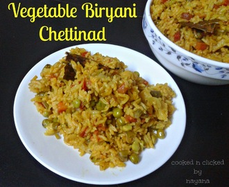 Chettinad Vegetable Biryani - ( Indian Cooking Challenge )
