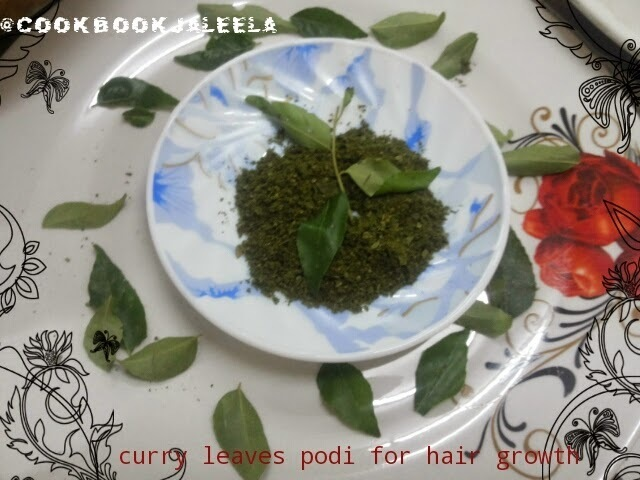 Curry Leaves Powder for Hair Growth