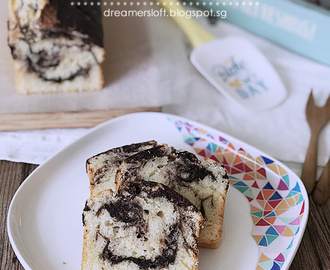 Greek Yogurt Marble Butter Cake