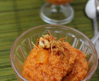 Papaya Apple Halwa