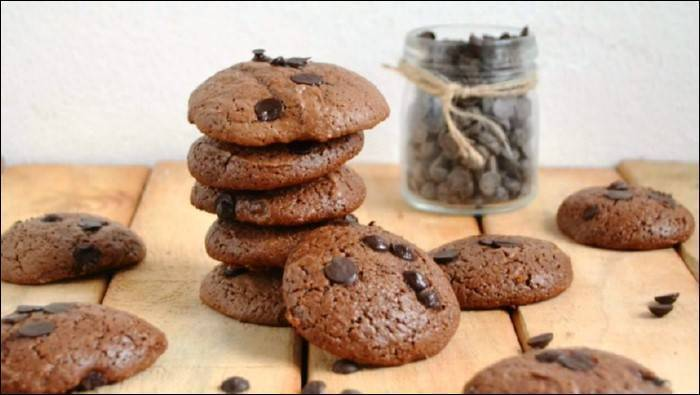 Galletas de chocolate y yogurt