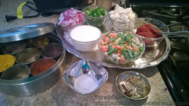 Mix Vegetable Curry- North Indian Style By Pratibha Jani