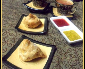 Baked Samosa ~ A famous Guilt-free Street Food of India