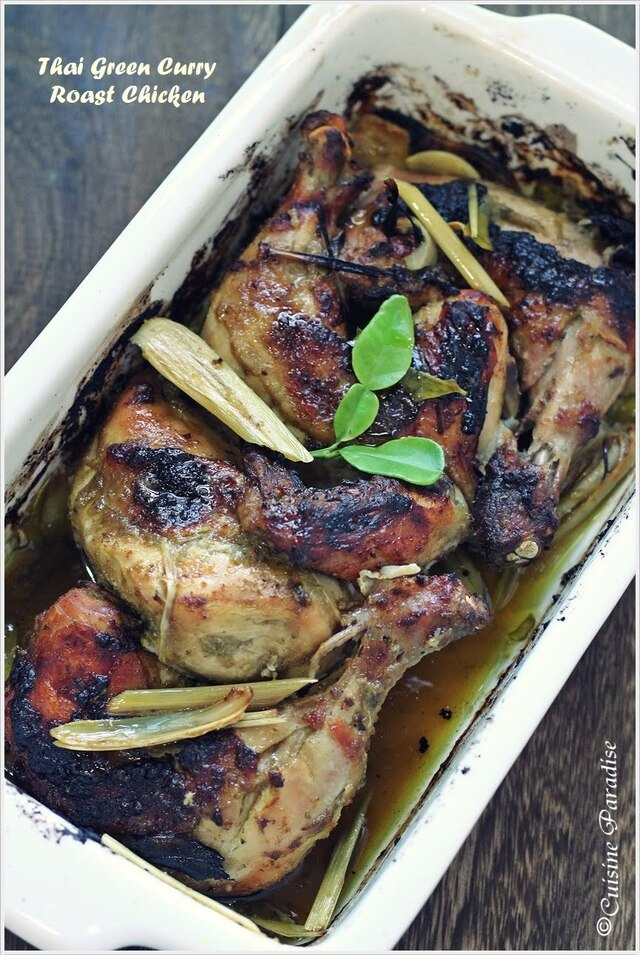 Thai Green Curry Roast Chicken