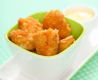 Chicken Nuggets med Curry dip