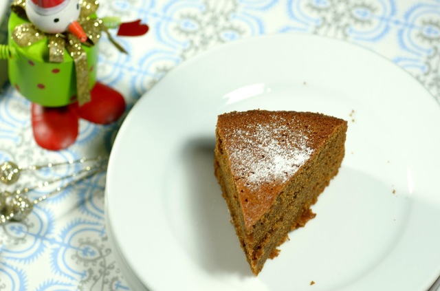 spicy gingerbread cake